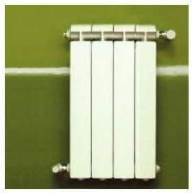 Chauffage Central Fonte Aluminium 2 /él/éments Blanc KLASS 600 Global