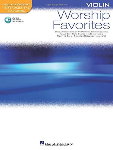 Worship Favorites For Violin - Instrumental Play-Along CD/Pkg (Hal Leonard Instrumental Play-along)