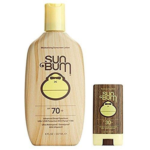 Sun Bum Moisturizing Sunscreen Lotion SPF 70 and Face Stick SPF 30