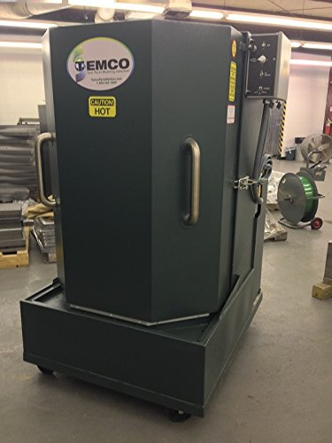 TEMCO Industrial Parts Washers are used extensively for degreasing in a variety of industries. Examples: engine blocks,transmissions, aircraft, oilfield, Cleans parts in minutes!