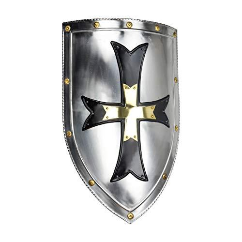 16th Century Swords - Armor Venue Crusader Steel Shield - 18 Gauge Steel