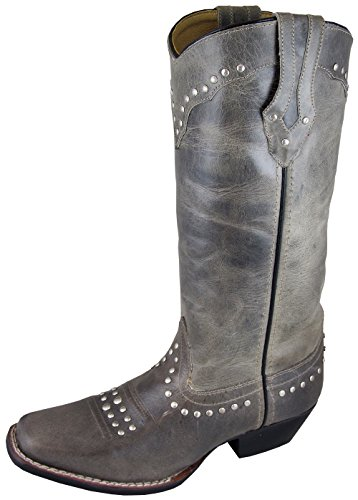 Smoky Mountain Boots Women's Western Laurel Studded Square T