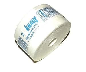 KNAUF Cinta para Sellar Juntas Fibra de Vidrio - 25m x 50mm