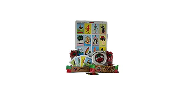 Amazon.com: Deluxe Loteria Game and Azteca Mexican Candy Set: Toys & Games