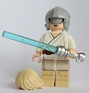 LEGO 7965 Star Wars - Figura de Luke Skywalker (entrenamiento en el Halcón milenario)