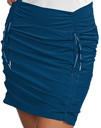 Antigua Ladies Cinch Skort Harbor Blue 12-14 Large ()