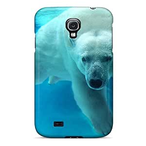 Premium WfY4968jlpA Case With Scratch-resistant/ Polar Bear Case Cover For Galaxy S4