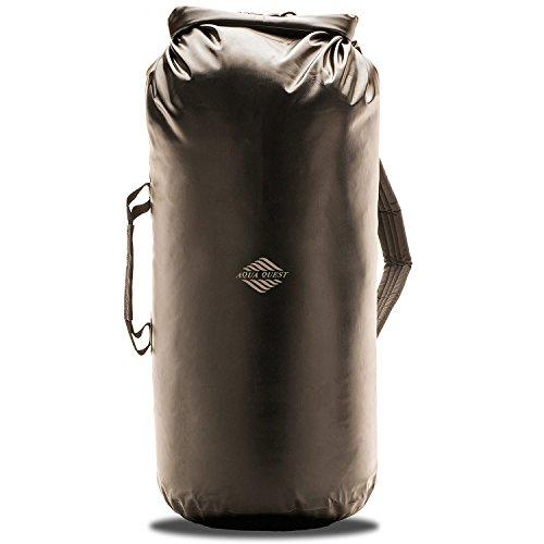 Aqua Quest Mariner Backpack - 100% Waterproof Lightweight Dry Bag - 30 Liter - Black