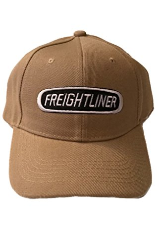 Freightliner Baseball Cap Hat. Khaki. Adjustable. (Freightliner Apparel)