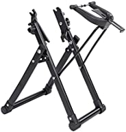 Bike Wheel Truing Stand,Foldable Home Mechanic Tire Truing Stand,Professional Bicycle Maintenance Tool for 16&