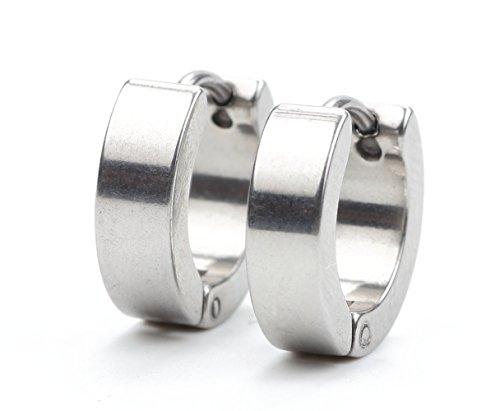 Zealmer Stainless Earrings Piercings Hypoallergenic
