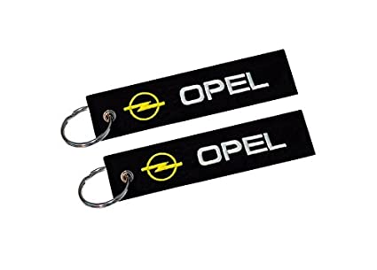 Moto Discovery Opel Llavero Doble Cara (1 Pieza): Amazon.es ...