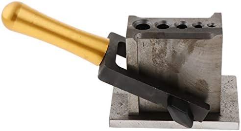 P Prettyia ジュエリーインゴットモールド ジュエリーキャスト キャスティング金型 溶融ゴールド ジュエリー金型 4/5穴