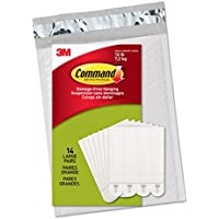 Command Picture Hanging Strips, Large, White, 14-Pairs -...