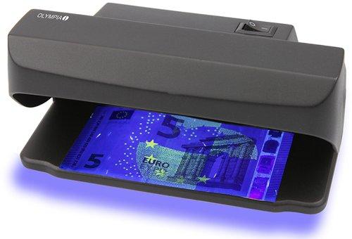 Olympia 585 - Lampada a raggi UV per controllo anti-contraffazione delle banconote UV 585