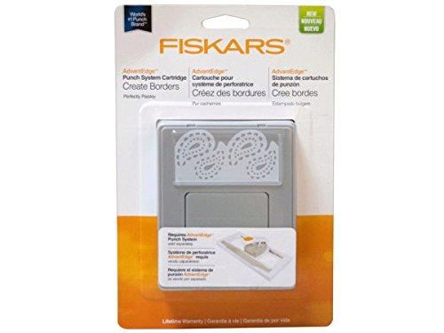 Fiskars Perfectly Paisley AdvantEdge Border Punch, Large Cartridge (101760-1001)