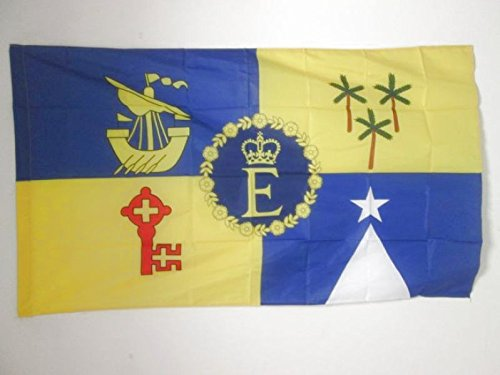 ROYAL STANDARD OF MAURITIUS 1968–1992 FLAG 3' x 5' for a p