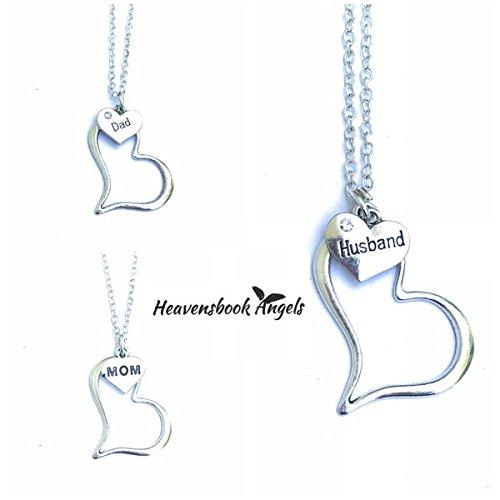 36c19da257 Amazon.com: Guardian Angel In My Heart Necklace: Handmade
