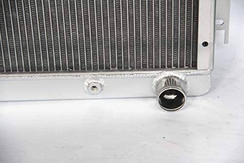 3 ROWS 1970-1972 Dodge Dart PLYMOUTH Duster,Valiant V8 ENGINE ALUMINUM RADIATOR