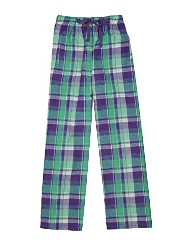 Ultra Soft Unisex Youth 100% Cotton Flannel Pants – Bejeweled, Medium