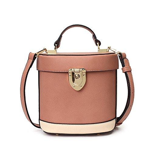 Kyokim Shoulder Bag Women Handbag Messenger Bag Bucket Bag Pink
