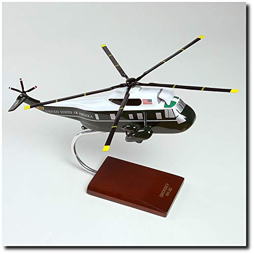 Planejunkie Aviation Desktop Model - Sikorsky VH-3D Seaking Model