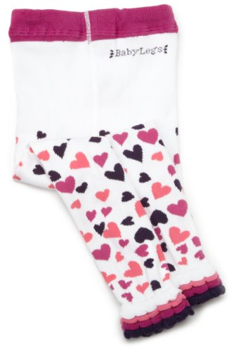 BabyLegs Little Falling Hearts Tights