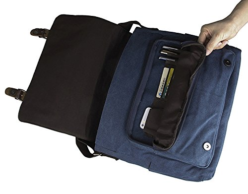 boda estilo college oficina bolso Lienzo viajar o de accesorios para School bebé Large el bolso del Casual de para bandolera 45NL clásico Uni Blue bandolera para tXfCCPqxw