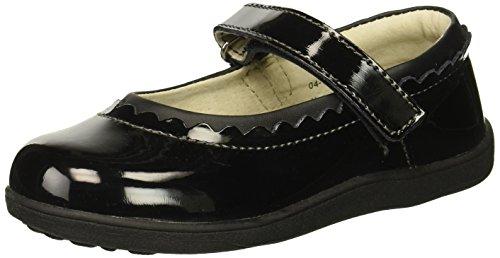 See Kai Run Girls II Mary Jane Flat, Black Patent, 8 M US Toddler for $<!--$41.99-->