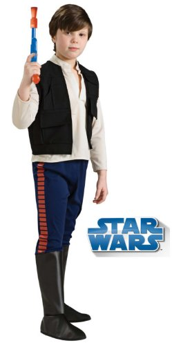 Rubie's Star Wars Classic Child's Deluxe Han Solo Costume, Small]()