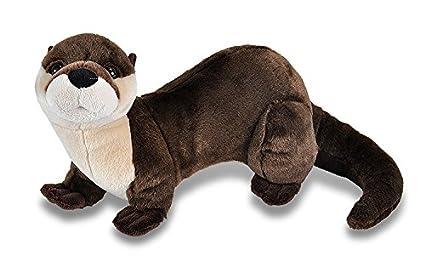 Amazon Com Wild Republic River Otter Plush Stuffed Animal Plush