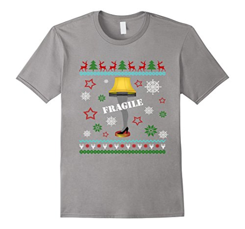 Leg Lamp Funny Light Up Christmas T-Shirt