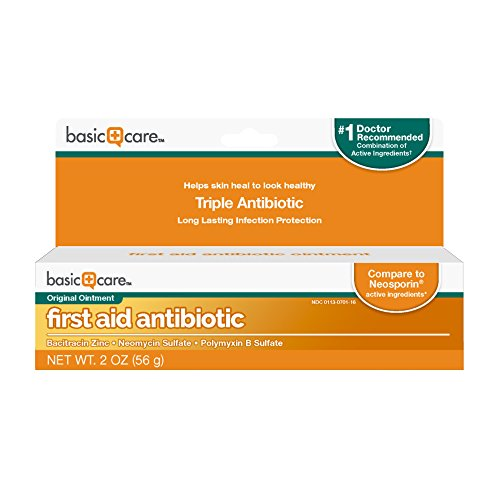 Basic Care First Aid Antibiotic Ointment, 2 Ounce