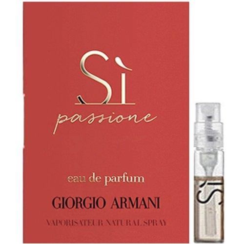 Giorgio armani si edp 1. 5ml. 05fl oz x 4 perfume spray sample vial.