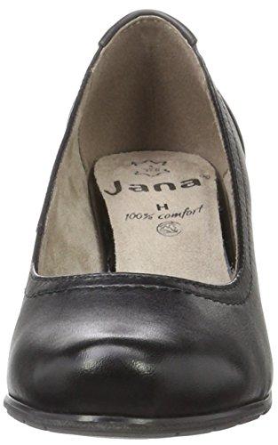 Jana Damen 22404 Pumps Schwarz (BLACK UNI 007)