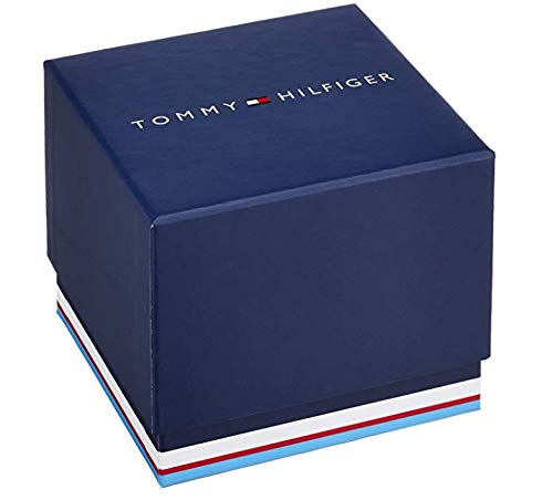 Tommy Hilfiger Mens Quartz Watch, Chronograph Display and Stainless Steel Strap 1791640