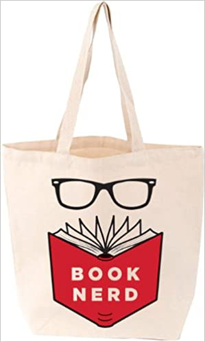 Book Nerd Tote Bag LoveLit Amazoncouk Gibbs Smith 9781423636670 Books