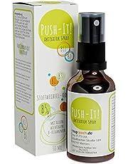 hCGC® Push-IT! Activator Spray (30 ml) - Geen bolletjes meer nodig | Voor de 21 dagen stofwisselingskuur | Veganistisch, hormoonvrij, alcoholvrij | Productie kwaliteit