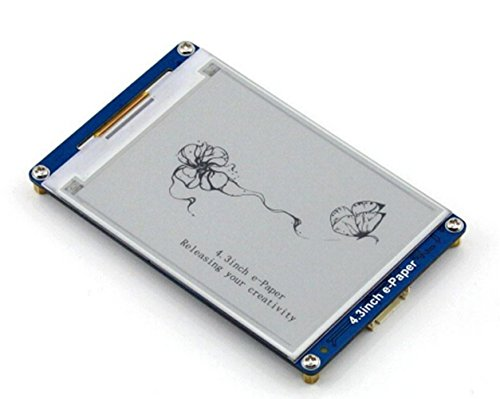 4.3 Inch E-Paper 800x600/4.3 Inch E-Paper Is An E-Book Display Module With Serial Interface Developed by D&F