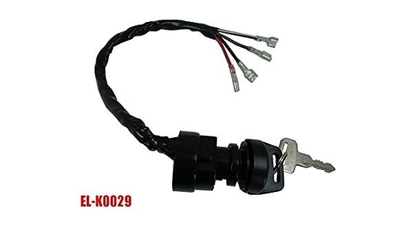 Ignition Key Switch FITS POLARIS TRAIL BOSS 350 2X4 4X4 1990 1991 1992 ATV