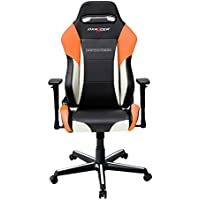DXRacer OH/DM61/NWO Black, White & Orange Drifting Series Gaming Chair