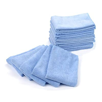 "Mr.Towels Premium Microfiber Cleaning Towel 16"" x 16"" - Blue (Pack of 24): Automotive"