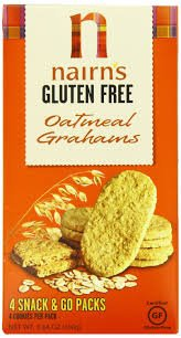 Nairn's Gluten Free Oatmeal Cookies Graham -- 5.64 oz pack of 3 by Nairn's