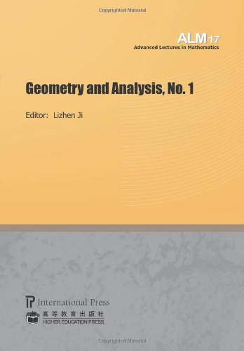 Geometry and Analysis, No. 1 (volume 17 of the Advanced Lectures in Mathematics series) pdf epub