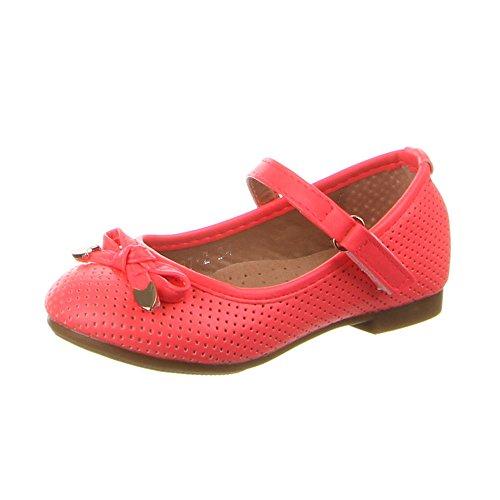 Kinder Schuhe, F-87, BALLERINAS Pink (19-24)