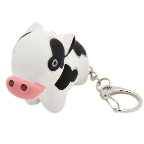 Cow Keychain Led Light - 4