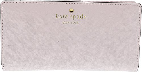 Kate Spade New York Women's Stacy Continental Wallet, Pink Blush, One Size