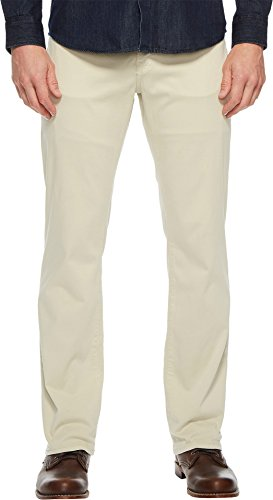 34 Heritage Men's Charisma Relaxed Fit in Bone Twill Bone Twill 36 (Brushed Twill Trousers)