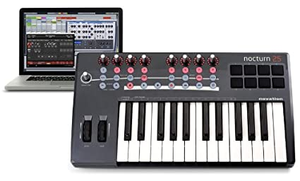 NOVATION NOCTURN 25 DRIVER FOR PC