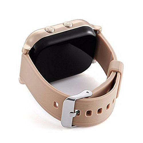 Zarsson Smart GPS Watch Tracker, Personal GPS GSM Bracelet Smartwatch For Kids Elderly with Google Map Two Way Communication for iOS Android
